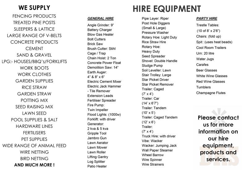 Dawsons-hire-list